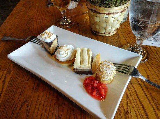 Stable Cafe: Delicious Dessert Sampler