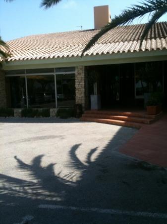 Hotel Le Mas d'Huston: entrée