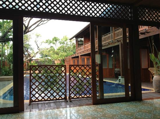 Baan U Sabai Boutique House: View from the lobby