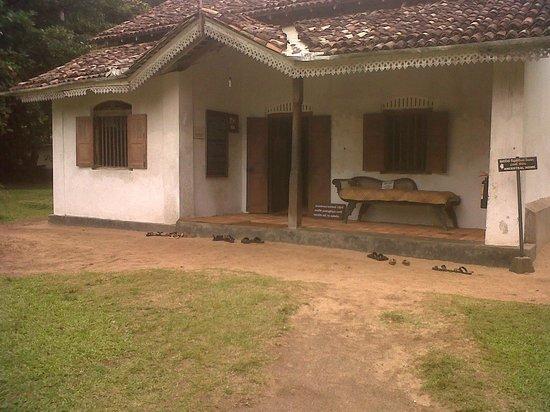 Galle, Sri Lanka: Martin Wickramasinghe's House