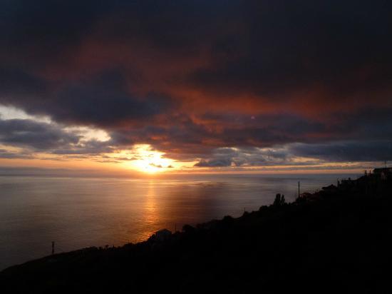 Vila Mia: Sonnenuntergang