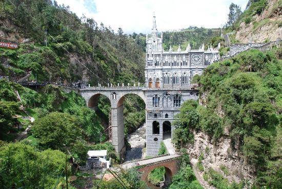 Santuario de Las Lajas: Las lajas
