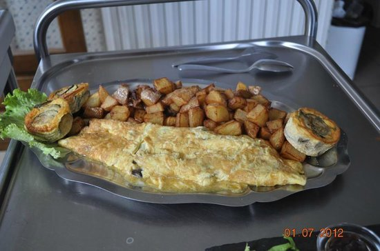 La Sobronade: l'omelette au cèpes de Dordogne