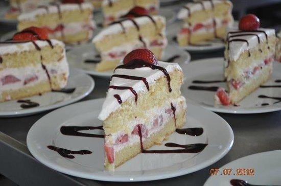 La Sobronade: fraisier maison