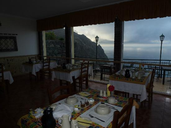 Vila Mia: Speisesaal mit toller Aussicht
