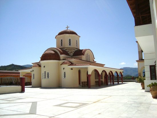 ‪‪Spili‬, اليونان: Nice Orthodox church‬