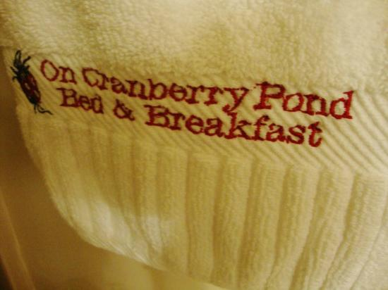 On Cranberry Pond Bed and Breakfast: Every last detail