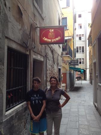 Ca' Leon D'Oro: Paola e Giulio settembre 2012 