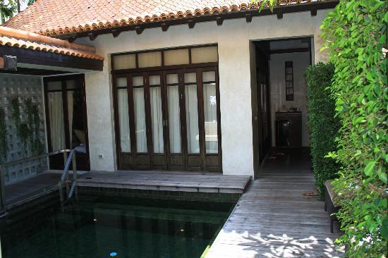 Le Meridien Koh Samui Resort & Spa: PATIO VILLA CON PISCINA