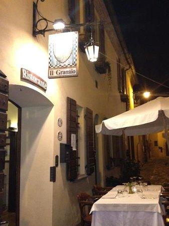 San Giovanni in Marignano, Italien: il ristorante