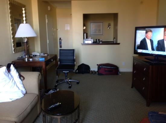 Hilton Houston Post Oak by the Galleria: living room