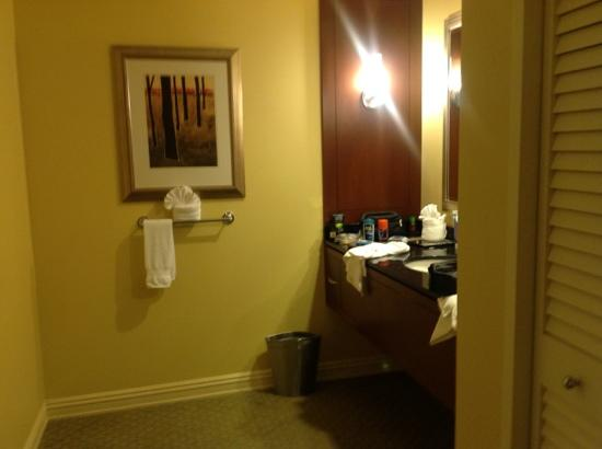 Hilton Houston Post Oak: bathroom