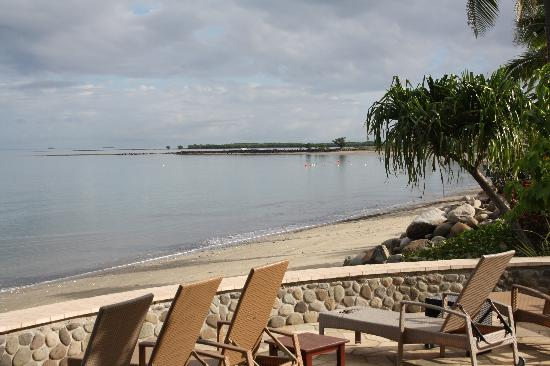 Radisson Blu Resort Fiji Denarau Island: deck area