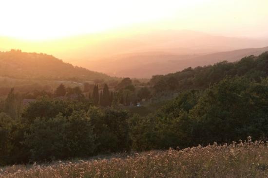 La Ghiandaia: Abendstimmung