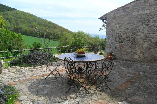 Il Romitorio di Monte Tezio: zona relax