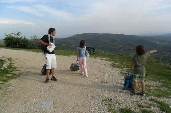 Il Romitorio di Monte Tezio: appena arrivati!