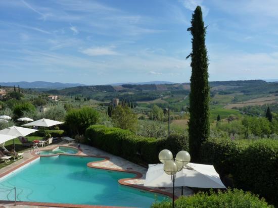 Relais Santa Chiara Hotel: pool view