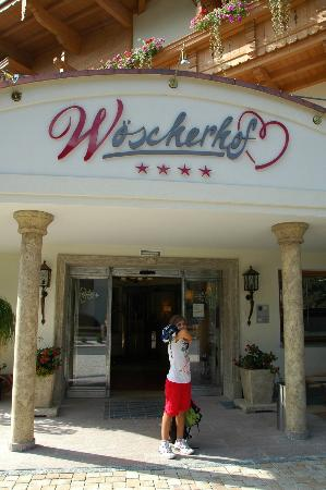 Hotel Woscherhof: Alice all'ingresso