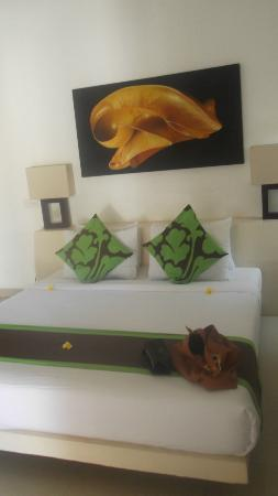 Ko-Ko-Mo Resort: spacious, clean rooms in villa mawar