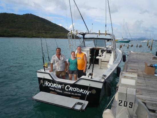 Deep sea fishing picture of hookin n crookin st thomas for Deep sea fishing st thomas