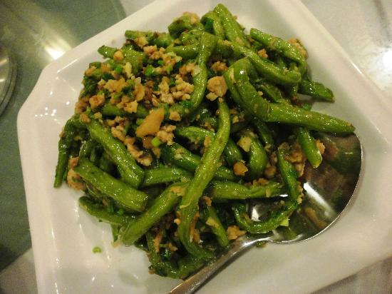 The Heritage: Long Beans with Minced Meat