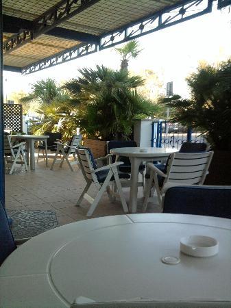 Blues Hotel: giardino