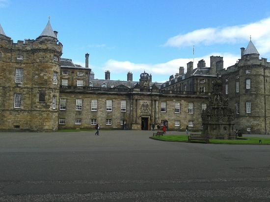 Cafe at the Palace: Hollyrood Palace