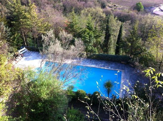 La Vieille Fontaine : la piscine