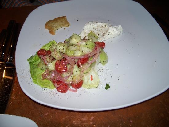 Juniper: Cucumber and Tomato Salad