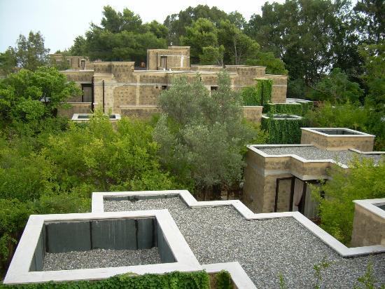 Vista dall alto delle camere picture of voi floriana resort