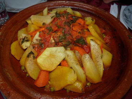 Hotel Izlane : La cena