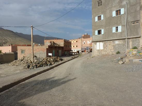 Hotel Izlane : El acceso al hotel
