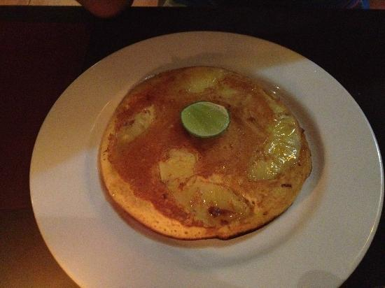 Rib Restaurant: Pineapple pancake