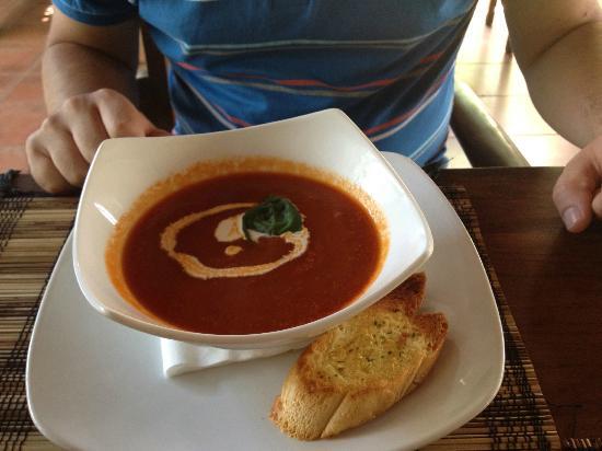Rib Restaurant: Tomato soup