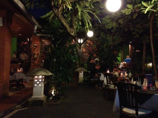 Rib Restaurant : Last night in Sanur
