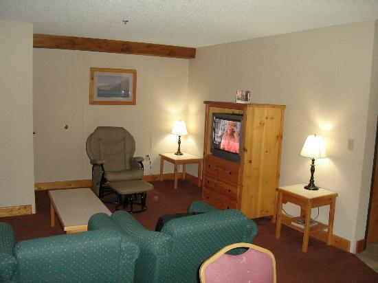 Lodge at Palmer Gulch: tv area
