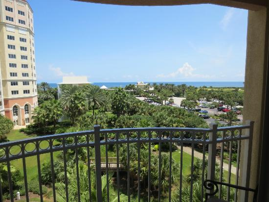 Hammock Beach Resort: View from 3rd floor suite - Main Tower