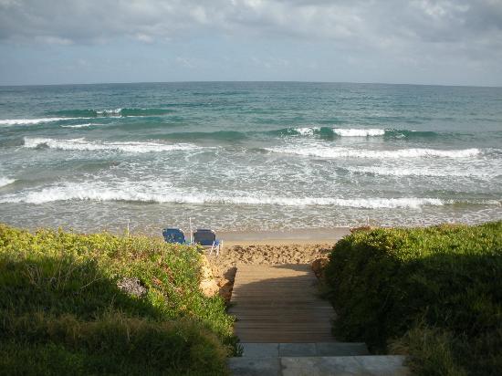 Ariadne Beach Hotel: plage