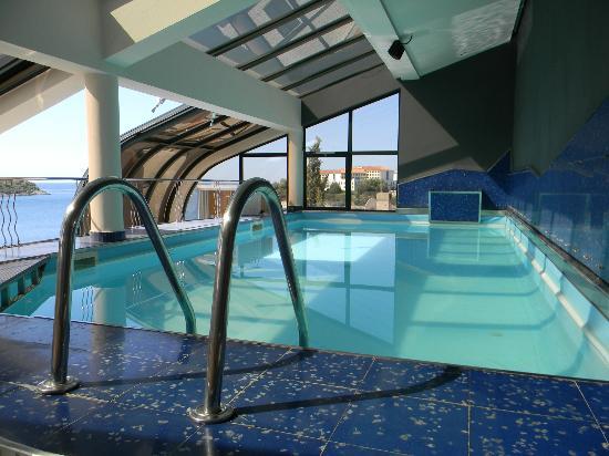 Hotel Valsabbion: Pool auf dem Dach