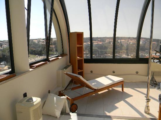 Hotel Valsabbion: Spa Bereich auf dem Dach