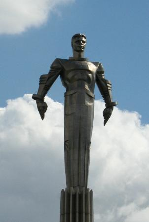 Monument To Yuri Gagarin Moscow Russia Top Tips Before