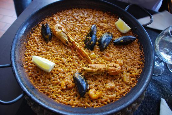 L'Erico: Paella de mariscos