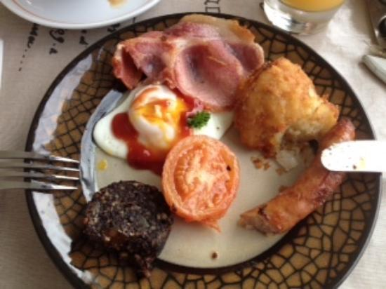 Bay View Boutique Guest House: mini Irish breakfast