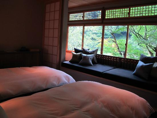 HOSHINOYA Kyoto: The bedroom