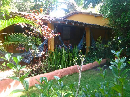 Condominio Dos Nativos: vista desde el jardín