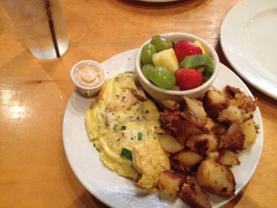 Sweet Melissa's: Cajun omelet