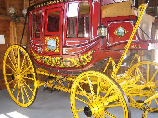 19th Century Willowbrook Village: Concord Coach