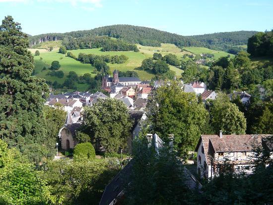 Orbey, France: vue de la chambre