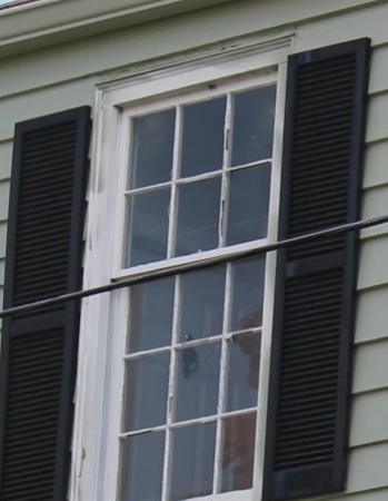 17 Hundred 90 Inn: Ghost Blob Outside the Door to Room 204