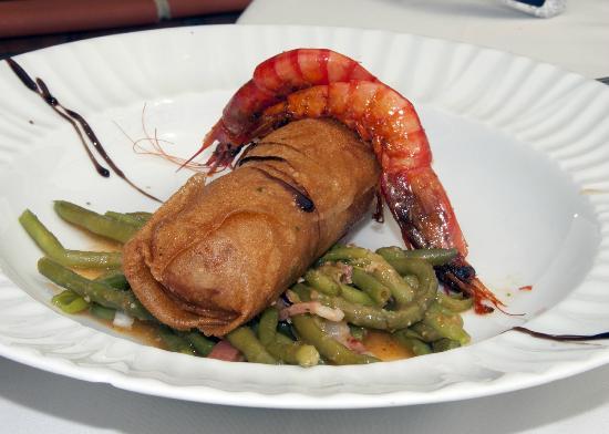 Restaurante El Pinar: Farcellet de Merluza